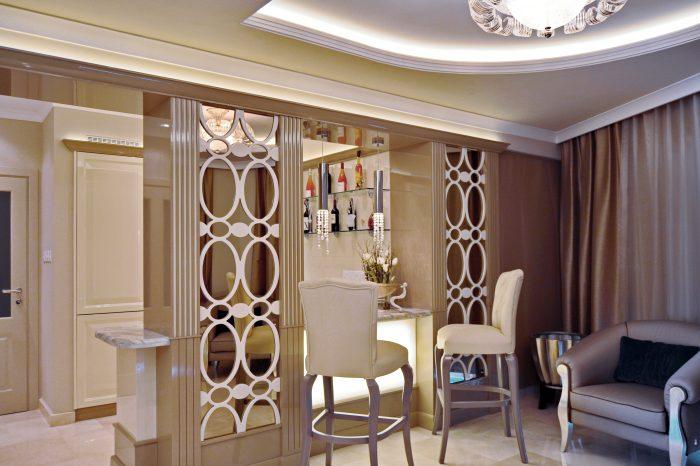 Bar decorative panels