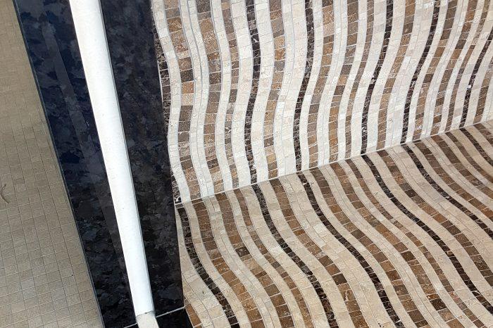 Custom-made mosaic