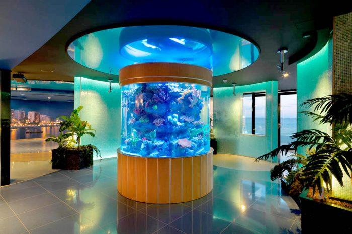 Cylindric aquarium