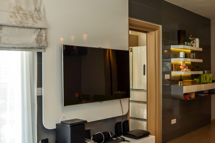 TV and wall design solution